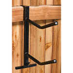 PVC Coated Double Saddle Rack