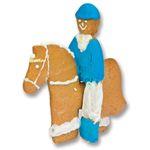 HORSE & RIDER COOKIE CUTTER