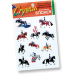 Colorful horse stickers