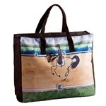 STICK HORSE TOTE BAG