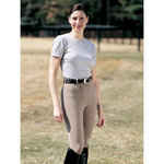 On Course Cotton NaturalsÖ ShapelyÖ Knee Patch Breeches