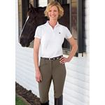Ovation Euroweave DX Breeches with Synthetic Full Seat
