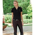 Pikeur® Lugana Microfiber Low-Rise Full-Seat Riding Breeches