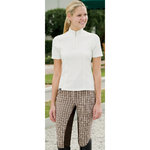 Riding SportÖ Euro Collection Plaid Full Seat Breeches