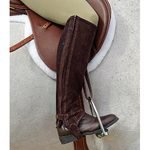 Dublin Comfort Suede Original Half Chaps