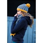 HRSWRE BOBBLE HAT & SCARF SET
