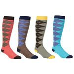 Ovation Tall Argyle Socks