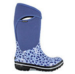 Bogs Plimsoll Tall Boot - Leaf Pattern