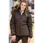 Riding Sport™ Ladies Down Jacket with Hood