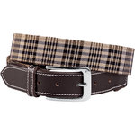 BAKER CLASSIC PLAID BELT