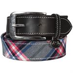 Equine Couture™ Amber Diagonal Plaid Belt