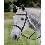 Ovation® Draft Cross Fancy Raised Padded Bridle