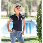 GOODE RDR GRLS AUTHENTIC POLO