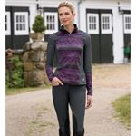 RIDING SPORT HALF ZIP TOP