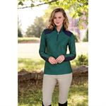 ARIAT LATERIAL 1/4 ZIP FLEECE