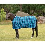 DESIGNER PLAID TURNOUT BLANKET