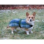 DVR PLAID WOOL DOG DRESS SHEET