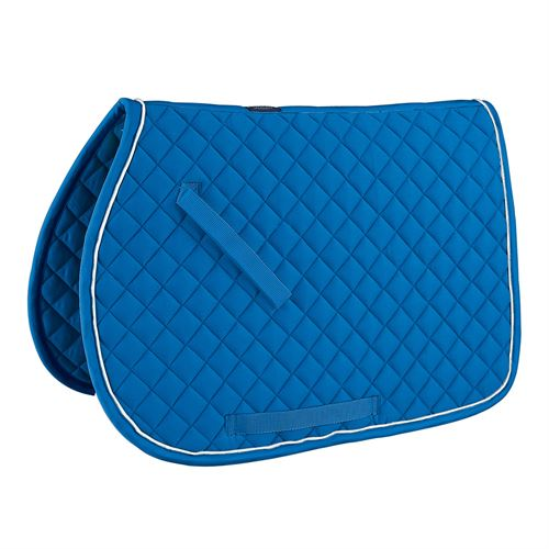 Rider International Quilted Saddle Pad With Piping