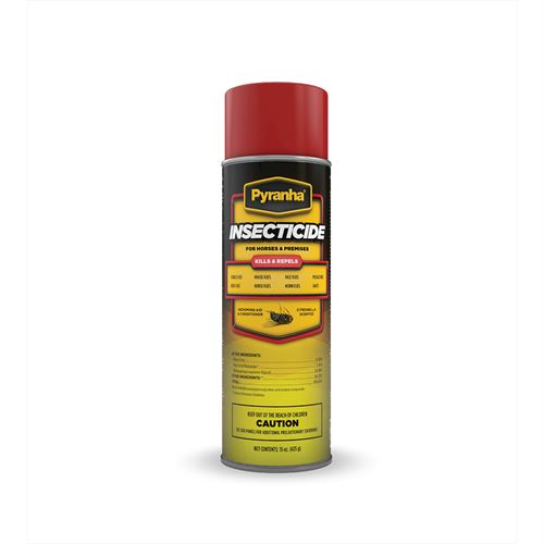Pyranha Spray N Wipe Aerosol Fly Spray