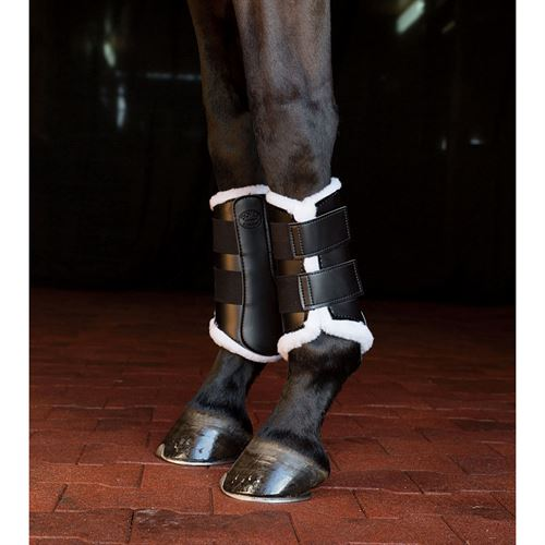 Dover Pro Sport Horse Boots with Fleece Lining