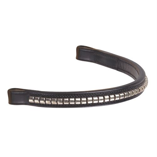 Crown Silver Clincher Browband