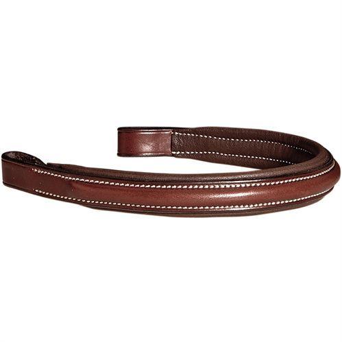Showmark Plain Raised Padded Browband