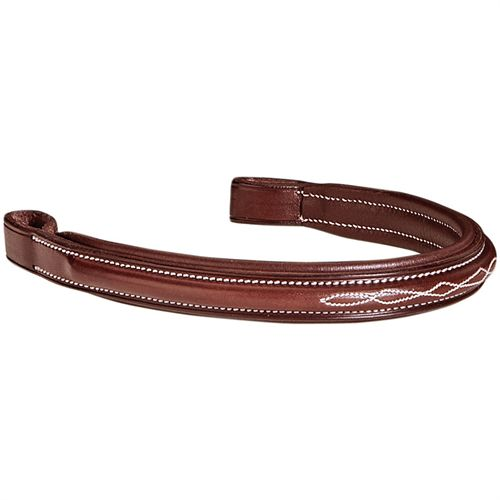Showmark Padded Fancy-Stitched Browband