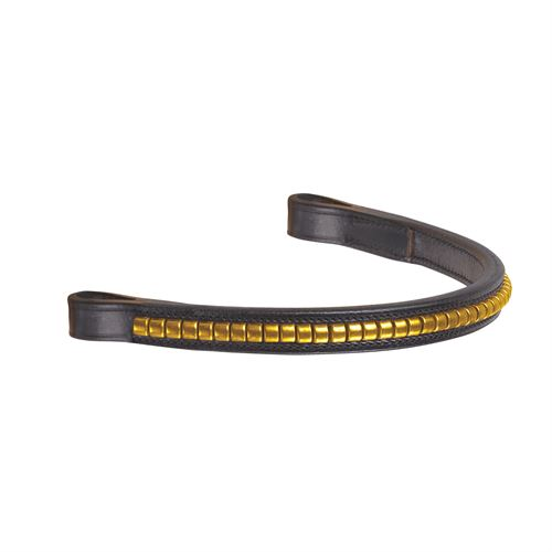 Crown Brass Clincher Browband