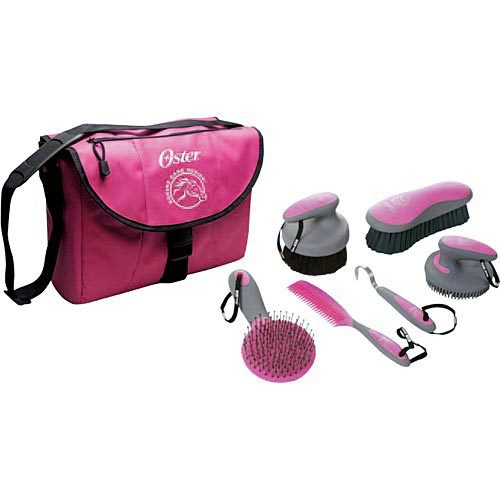 Oster® 7-Piece Equine Care Series? Pink Kit