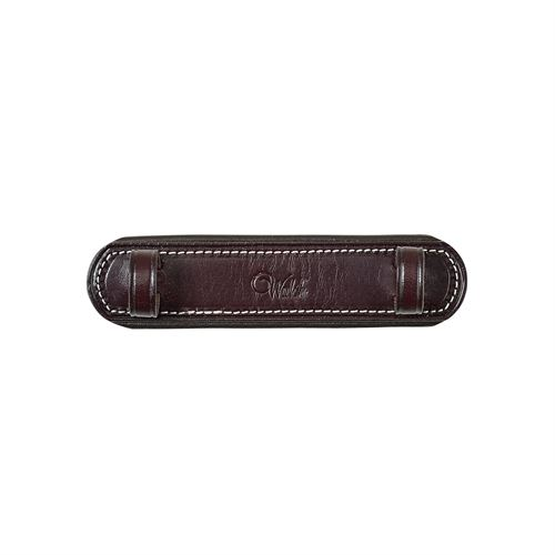 WALSH LEATHER CURB CHAIN GUARD