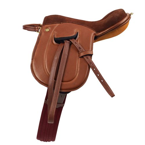 Camelot Leather Leadliner Saddle