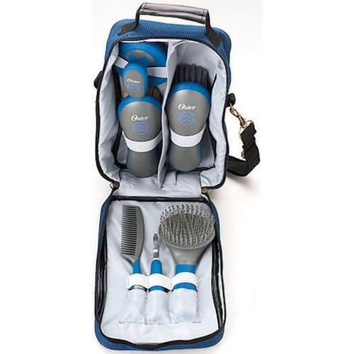 Oster 7-Piece Equine Care Series Blue Kit