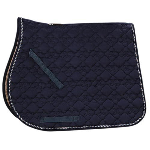 Roma® Ecole Cotton Flower Quilted All Purpose Saddle Pad