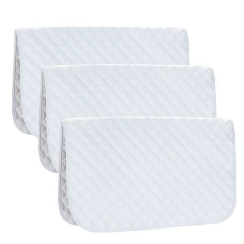 BABY SADDLE PADS- 3 PACK