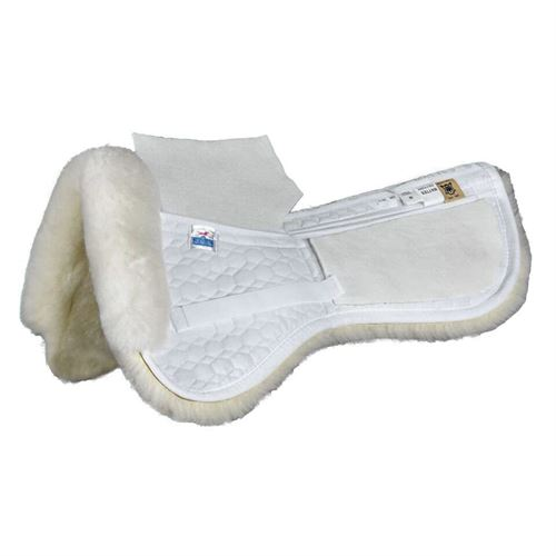 Mattes Gold Wool Correction Half Pad-Dressage