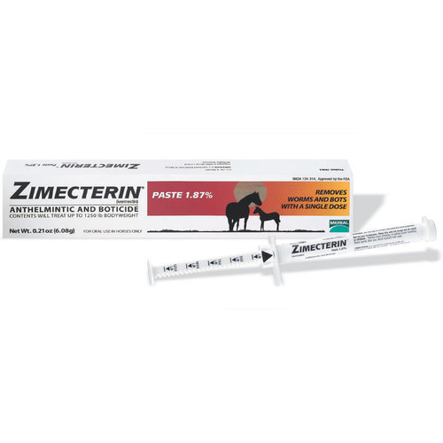 Zimecterin Paste Wormer