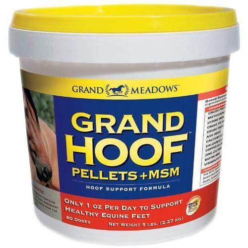 Grand Hoof Supplement  MSM Pellets