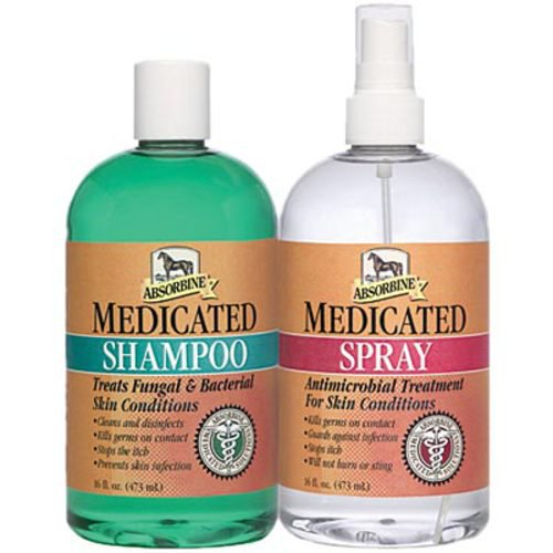 Absorbine® Medicated Shampoo & Spray