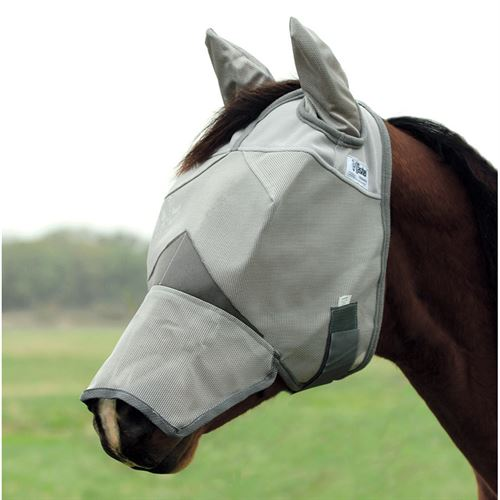 Cashel® Cool Crusader? Long Nose Fly Mask with Ears