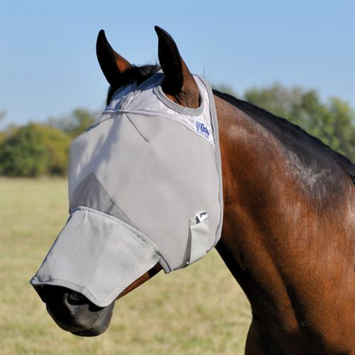 Cashel® Cool Crusader? Long Nose Fly Mask without Ears