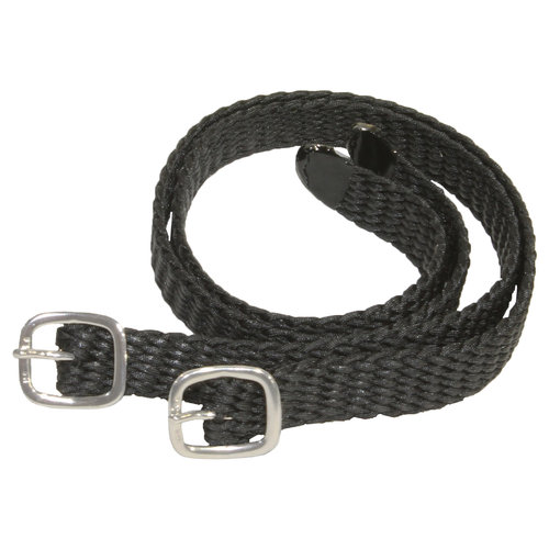 HS SILVER BUCKLE NYLON STRAP