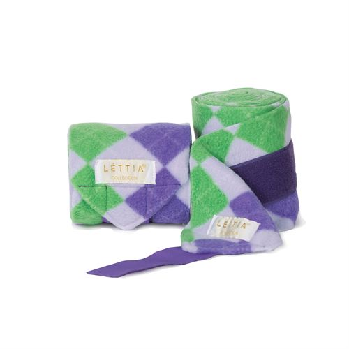 LETTIA ARGYLE POLO WRAPS