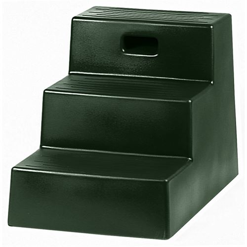 Three-Step Mounting Block in Colors