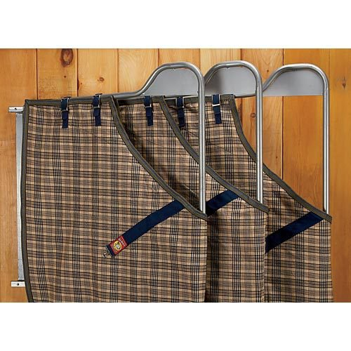 Swinging Rug Rack with 3 Arms