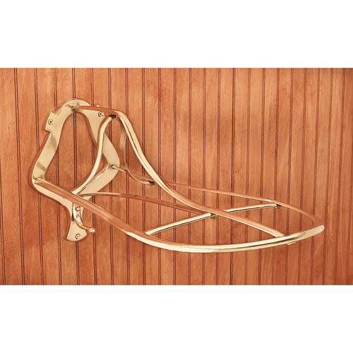 Brass Saddle Rack