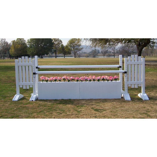 PICKET FENCE OXER JUMP