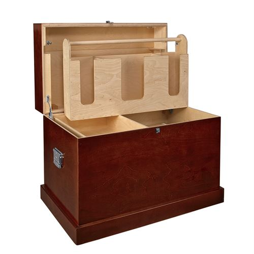 Dovers Hardwood Trunk with Bandage Lid