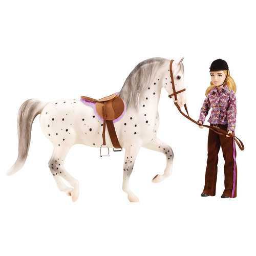 Breyer Lets Go Riding - English Set