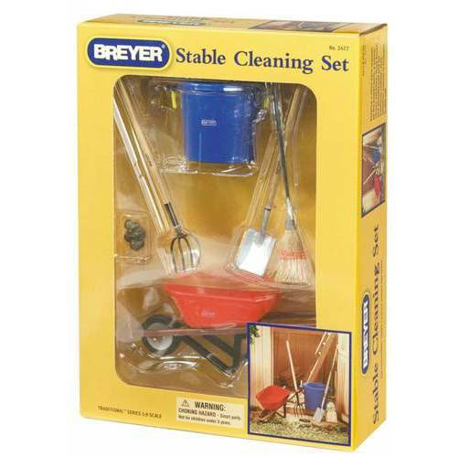 BREYER STALL CLEANING SET
