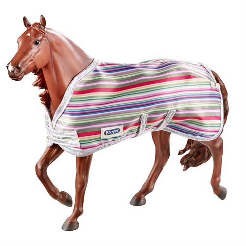 COLORFUL STABLE BLANKET-4 PACK